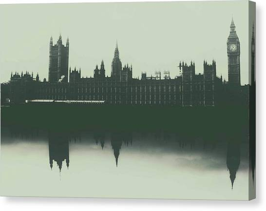 Parliament Canvas Print - Houses Of Parliament by Martin Newman