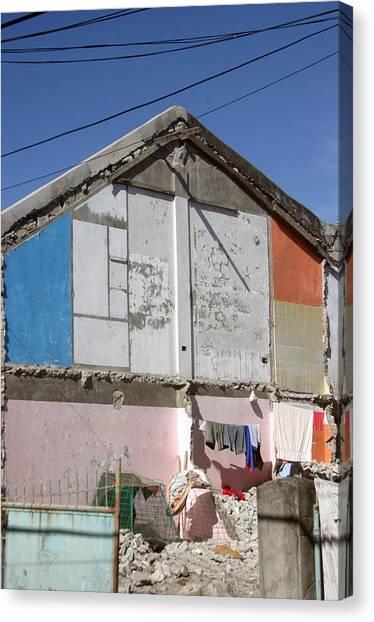 Housing 2 Canvas Print by Jez C Self