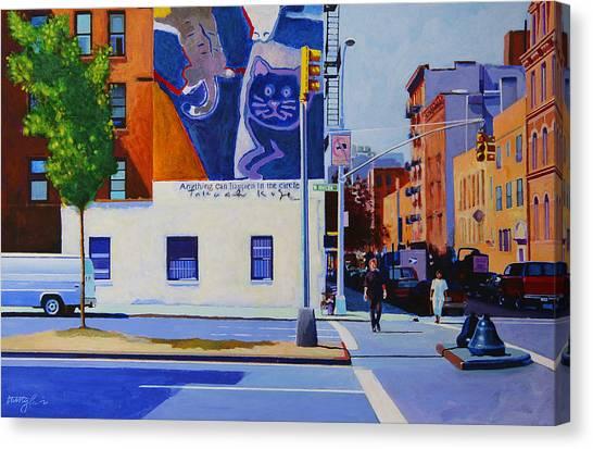Houston Street Canvas Print by John Tartaglione