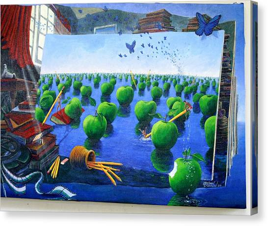 How Bout Those Apples Canvas Print