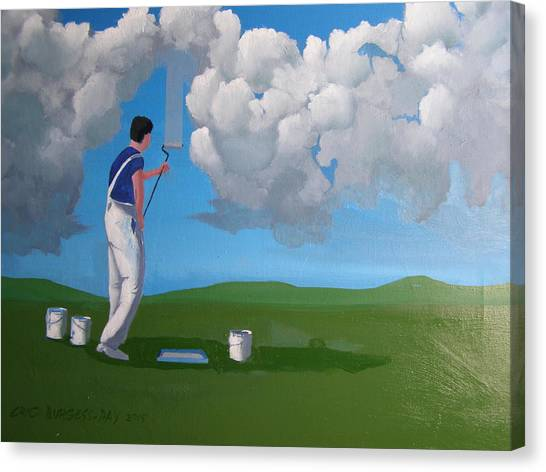 How To Paint A Shetland Sky Canvas Print