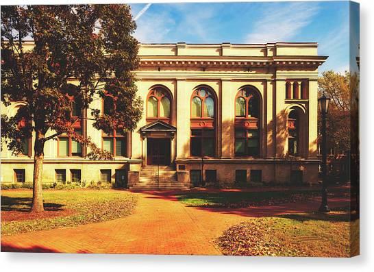 University Of North Carolina Chapel Hill Canvas Print - Howell Hall - University Of North Carolina by Library Of Congress