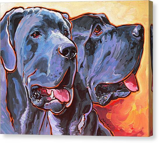 Canvas Print - Howy And Iloy by Nadi Spencer