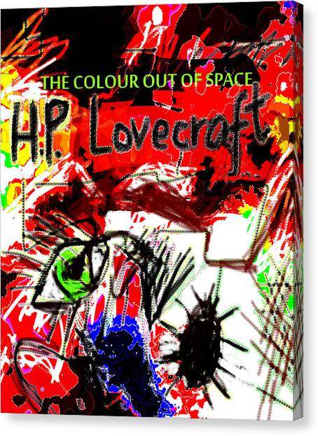 Hp Lovecraft Poster  Canvas Print