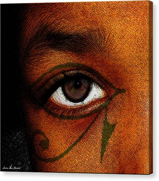 Hru's Eye Canvas Print