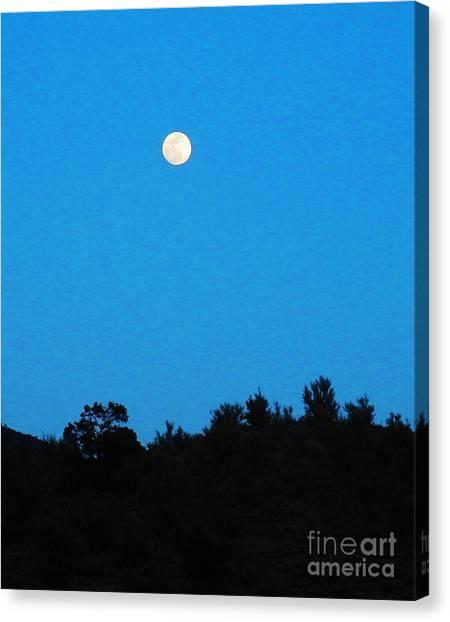 Hualapai Night Canvas Print