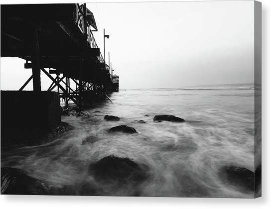 Huanchaco Pier Canvas Print