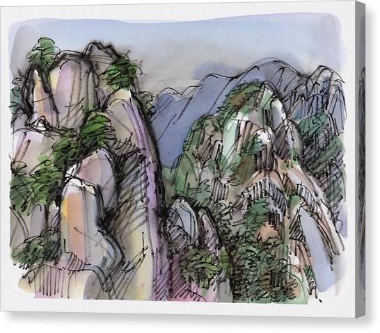 Huangshan, China Canvas Print