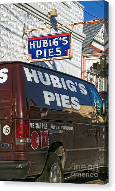Hubig's Pies 2 New Orleans Canvas Print