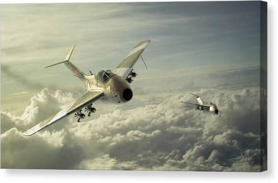 Luftwaffe Canvas Print - Huckebein by Anastasios Polychronis