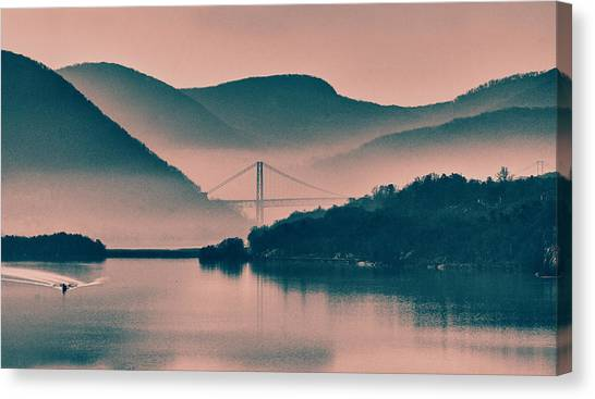 Hudson Highlands Fog Canvas Print