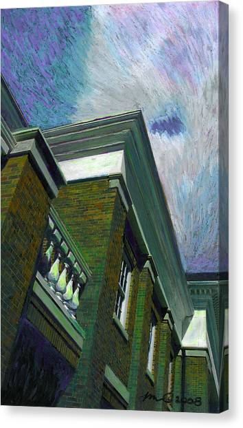Hudson Library Canvas Print