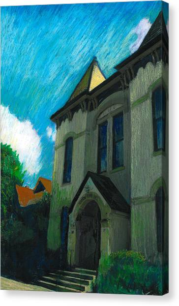 Hudson Town Hall Canvas Print