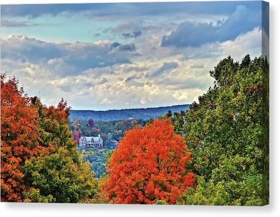 Hudson Valley Hyde Park Ny Canvas Print