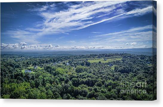 Hudson Valley View Canvas Print
