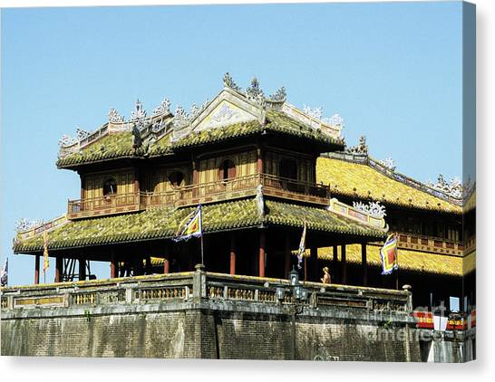 Canvas Print - Hue Imperial Citadel 01 by Rick Piper Photography