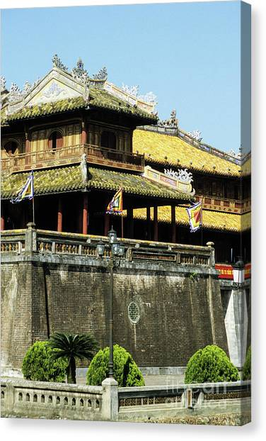 Canvas Print - Hue Imperial Citadel 02 by Rick Piper Photography