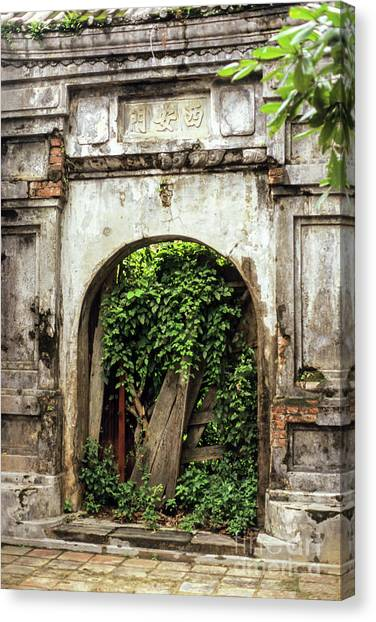 Canvas Print - Hue Imperial Citadel Arch 01 by Rick Piper Photography