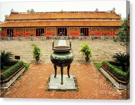 Canvas Print - Hue To Mieu Temple by Rick Piper Photography