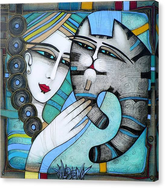 hug Canvas Print by Albena Vatcheva
