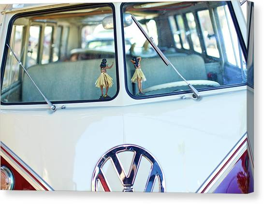 Canvas Print featuring the photograph Hula 2 by Nik West