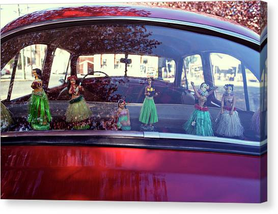 Canvas Print featuring the photograph Hula by Nik West