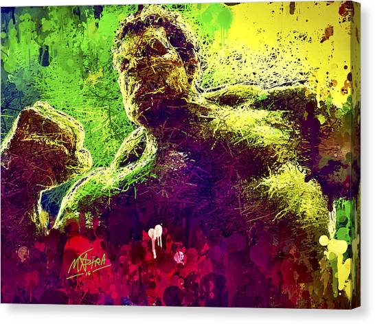 Hulk Smash Canvas Print