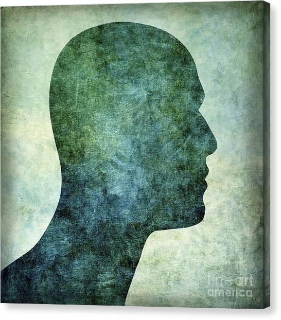 Chest Canvas Print - Human Representation by Bernard Jaubert