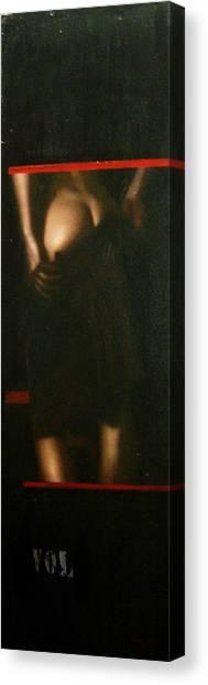 Humanografia 4 Canvas Print by Romeo Niram