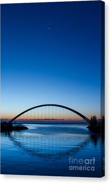 Humber River Dawn Canvas Print