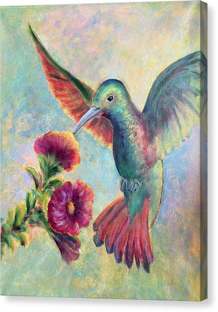 Humming Jewel Canvas Print