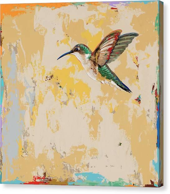 Hummingbirds Canvas Print - Hummingbird #23 by David Palmer