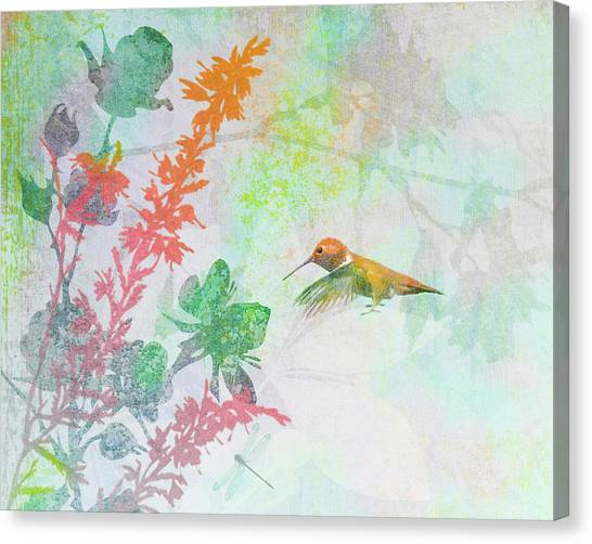 Hummingbird Summer Canvas Print