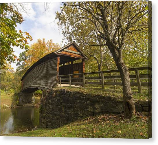 Humpback Bridge Afternoon Sun Canvas Print