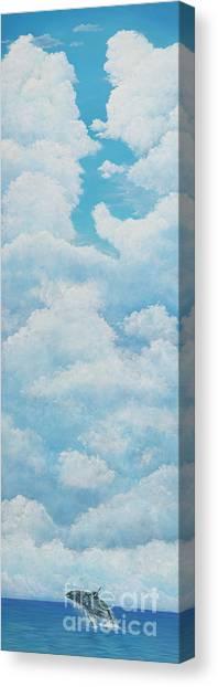 Humpback Canvas Print