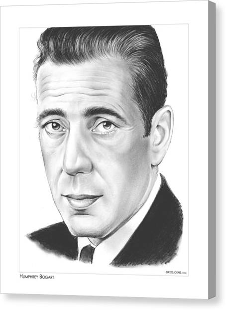 Falcons Canvas Print - Humphrey Bogart by Greg Joens