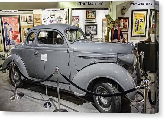 Humphrey Bogart High Sierra Car Canvas Print