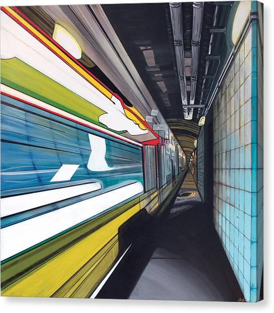 Humphrey Terminal Canvas Print