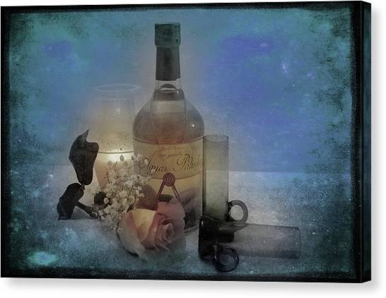 Hungarian Palinka Canvas Print by Rozalia Toth