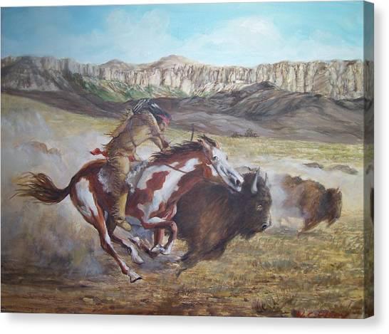 Hunt Canvas Print
