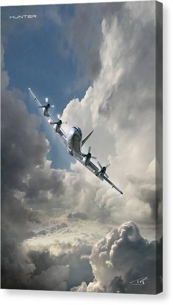 Sidewinders Canvas Print - Hunter    by Peter Van Stigt