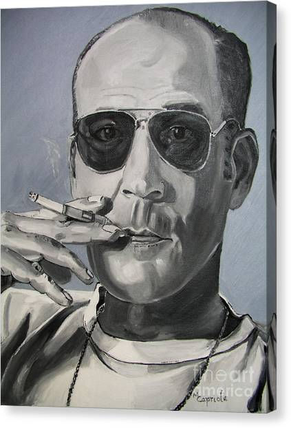 Hunter Thompson Canvas Print