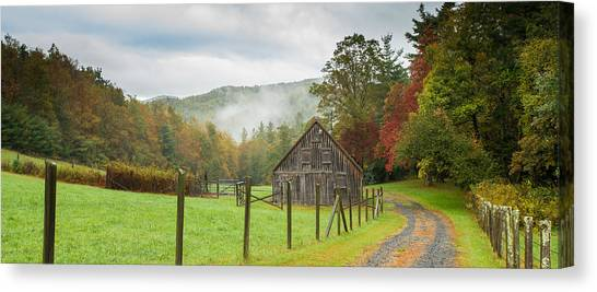 Hunting Cabin-3 Canvas Print