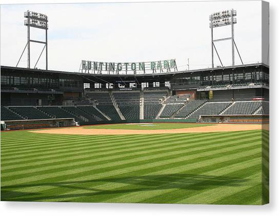Huntington Park Baseball Field Canvas Print
