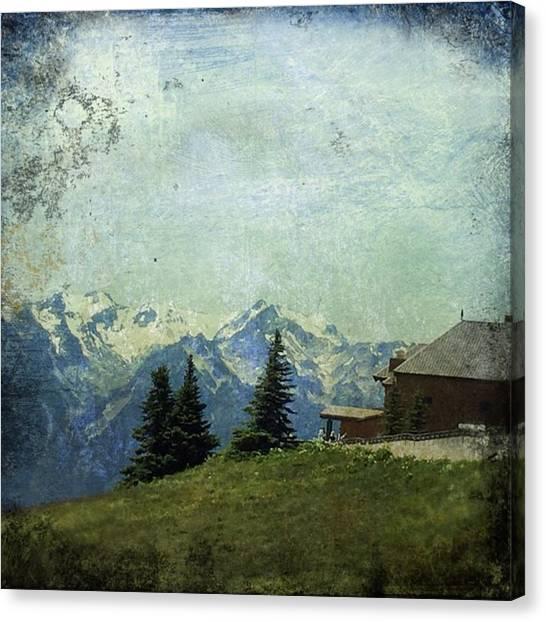Washington Canvas Print - Hurricane Ridge #mountains #washington by Joan McCool