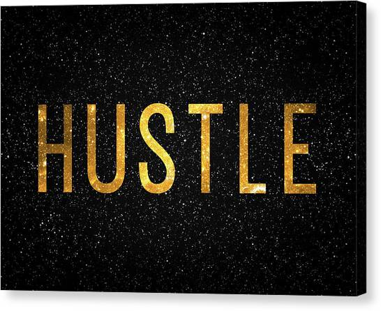 Offices Canvas Print - Hustle by Zapista