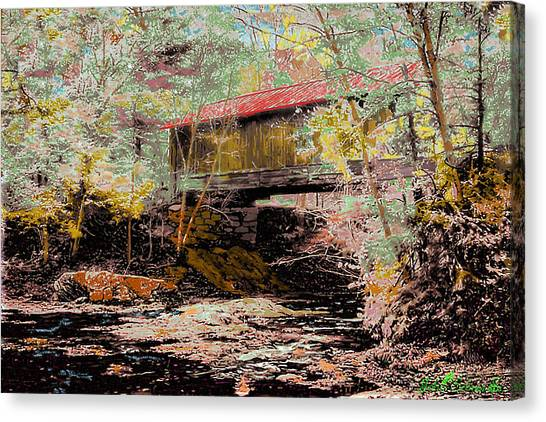 Hutchins' Bridge Canvas Print