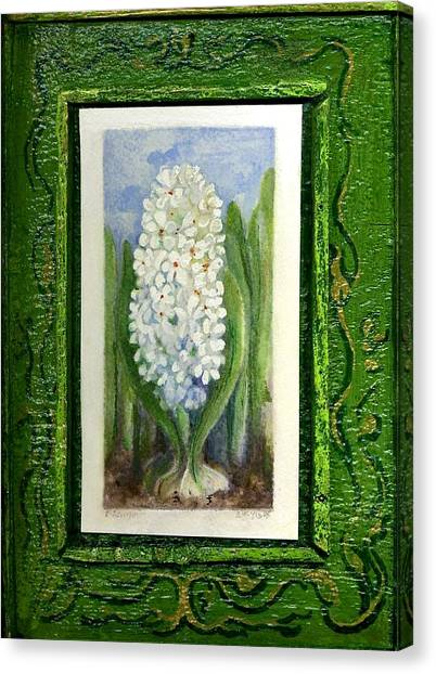 Hyacinth Canvas Print by Elle Smith Fagan