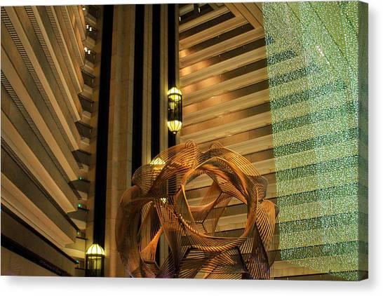 Hyatt Regency Sf Atrium Canvas Print