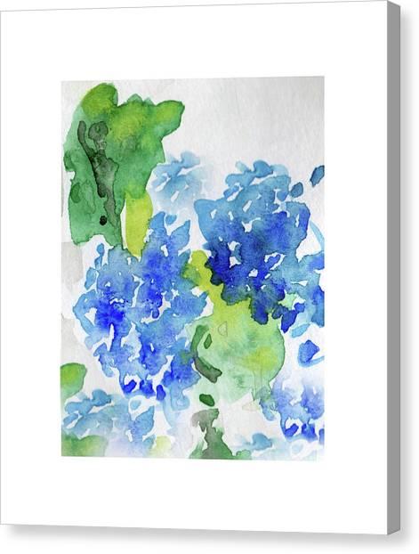 Hydranga Canvas Print